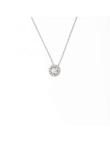 "Collier Médaillon Diamants ""ACCESS"""