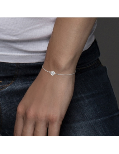 """Bracelet TREFLE """"PORTE BONHEUR"""" Diamants """"ACCESS"""""""