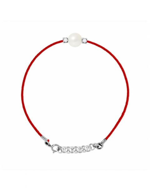 """Bracelet Véritable Perle & Diamants de """"ACCESS"""""""