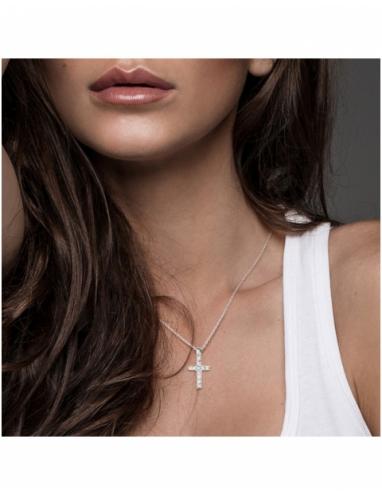 Collier Diamants Or